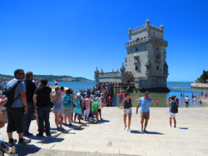 Portugal tourism on a red list