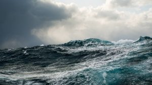 Heavy seas, with rain forecast