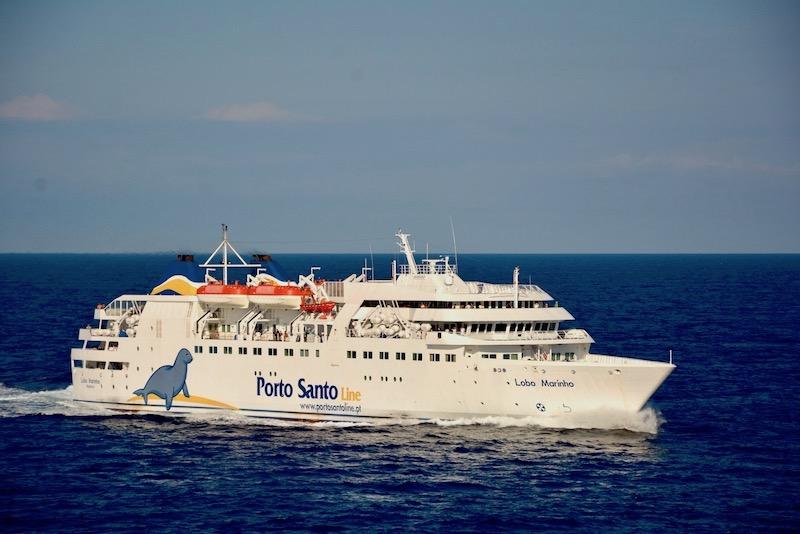 The Porto Santo ferry