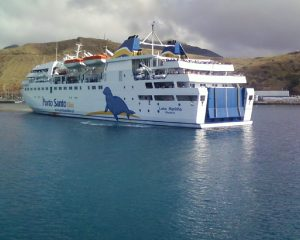 The Porto Santo ferry, which the Portosantense will benefit from using