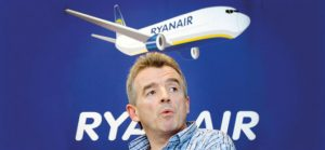 Ryanair, who have banned passenngers who claimed money back through their credit cards