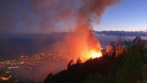 Fire in Monte