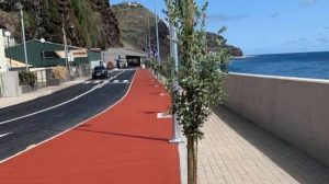 New seafront road in Ribeira Brava