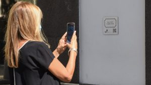 """QR Codes added to """"Streets of Funchal"""""""