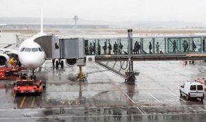 photo of air bridge representing a travel corridor