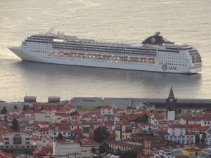 MSC OPera in Funchal, where the cocaine was discovered