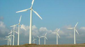Paul da Serra wind farm, producing renewable energy