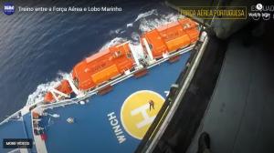 Ferry rescue video