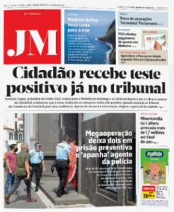 drug operation on the cover of today's JM featuring the detainees from the operation