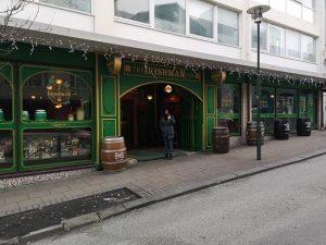 Irishman Pub in Reykjavik, Iceland