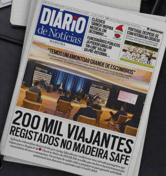 Diario front page featuring Madeira Safe