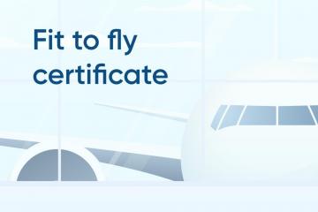 PCR test certificate