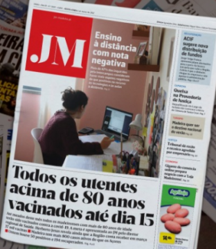 JM headline that all over-80's will be vaccinated by mid-March