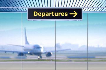 Departures sign, as autumn enquiries grow