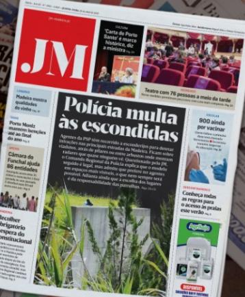 JM headline about speed cameras