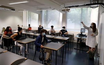 Students is a classroom