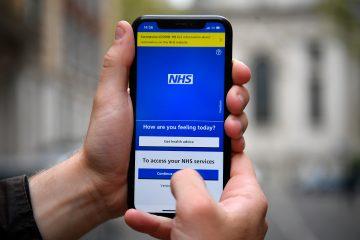 Vaccine Passport on the NHS app