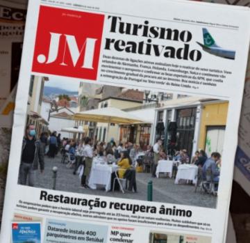 JM headline about tourism