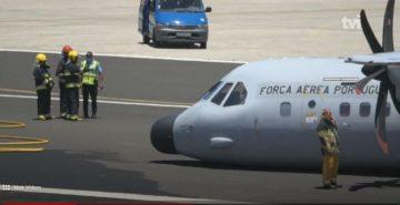 Plane accident in Porto Santo