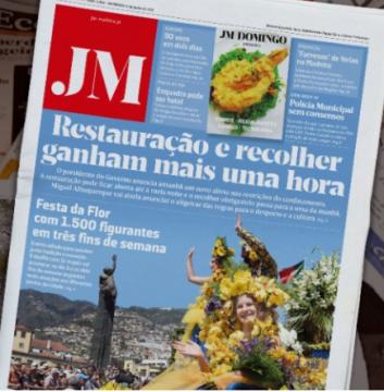 Curfew headline in JM