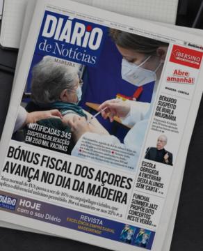 The Diario headline about the Azores