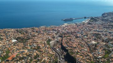 Funchal, Madeira, which saw a population fall