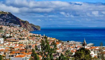 2020 weather hotter and more humid - picture of a fine day in Funchal