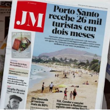 Porto Santo headline in JM