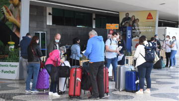 Madeira Airport where fake tests have been identified