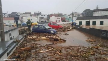 Flooding in Sao Miguel
