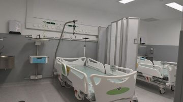 Hospital ward for treating Covid in Madeira