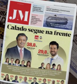 Headline featuring Social Democrat lead