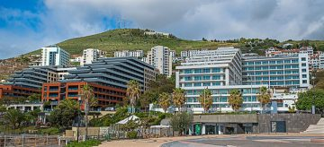 Main tourism area at the Lido in Funchal