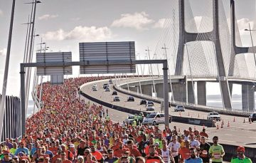 Lisbon Marathon sponsored by Banana da Madeira