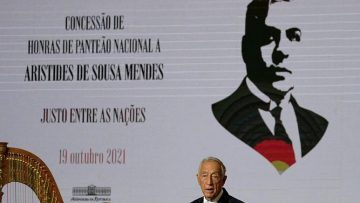 Sousa Mendes has been honoured