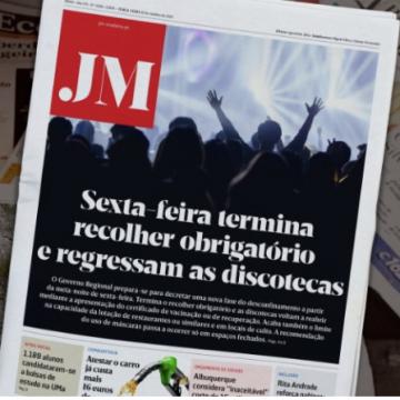 JM headline the end of curfew