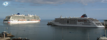 Iona departing from Funchal