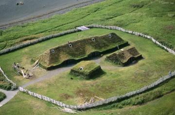 Vikings settlement in the New World centuries before Christopher Columbus