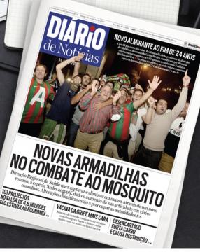 Mosquito headline in the Diario