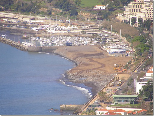 madeira news blog 1003 tobi funchal new sea front all the earth has been leveled now