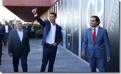 Ronaldo and Alberquerqe - airport renamed