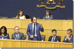 Albuquerque addressing regional parliament