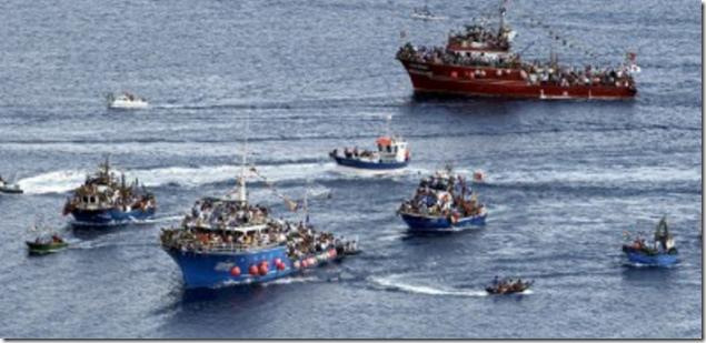 Canical fishing boats