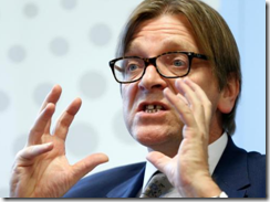 Brexit negotiator Verhofstadt