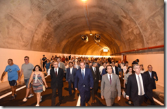 Madalena do Mar tunnel opened