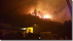Fire overnight in Serra d`Água