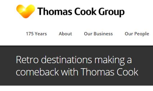 Thomas Cook press release
