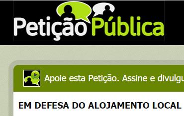 Public Petition on AL