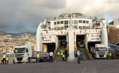 Ferry in Madeira