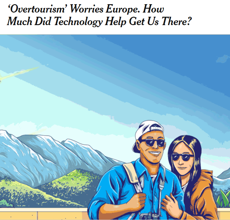 """New York Times """"overtourism"""""""